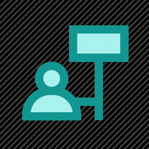 advertisement, business, info, marketing, media, network, news icon