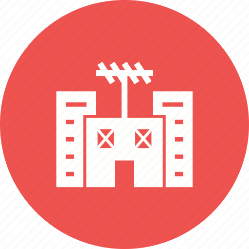 broadcasting, news, radio, recording, station, studio, television icon