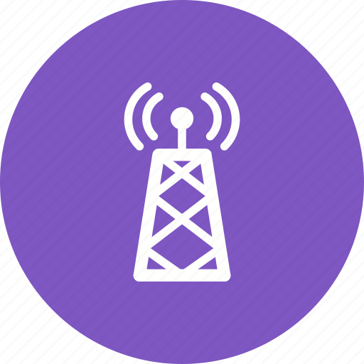 antenna, broadcasting, communication, frequency, signals, telecom, tower icon