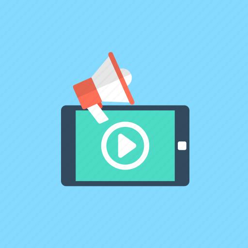 digital advertising, mobile advertising, mobile marketing, publicity, viral marketing icon
