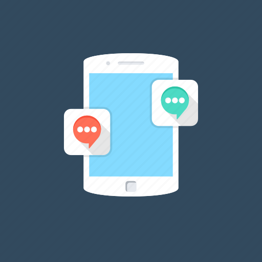 chat room, conversation, mobile chatting, mobile communication, social media icon