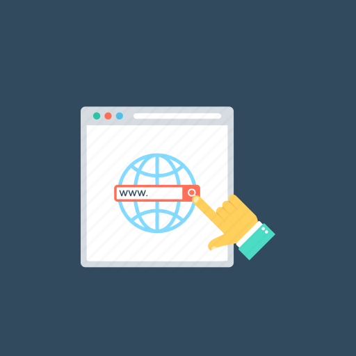 domain availability, domain name registration, domain names, domain search, website management icon