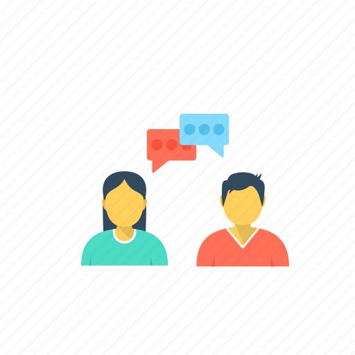 chat bubbles, chatting, communication, conversation, dialogues icon