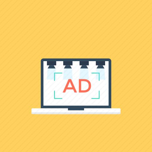 ad campaign, internet marketing, online advertising, web advertisement, web marketing icon