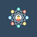 public network, sharing network, social communication, social media, social network icon