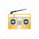 media, old radio, radio, radio set, transmission