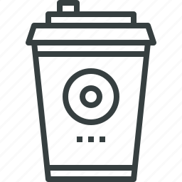 advertising, coffee, cup, dispenser, package, product, promotion, takeaway icon