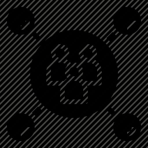 bubble, chat, comments, dialogue, focus, forum, talk icon