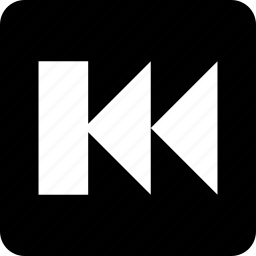 arrow, back, backward, fast, fast rewind, previous, rewind icon
