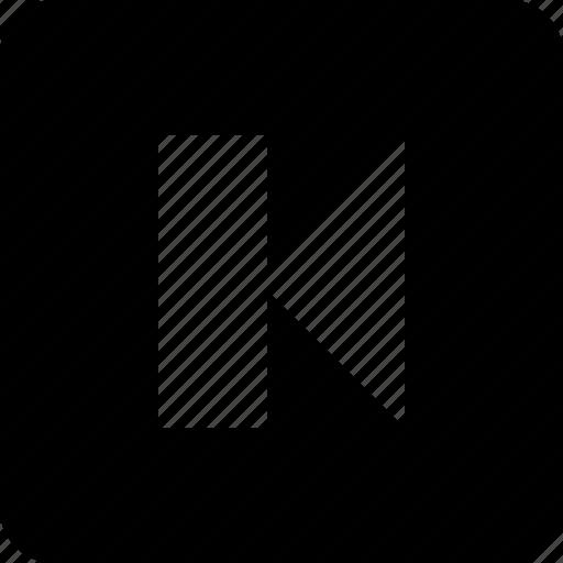 back, previous, rewind, rewind button icon