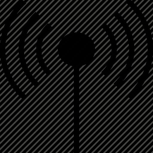 antenna, communication, signal, wifi, wireless icon