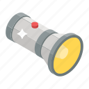 battery light, led light, torchlight, flashlight, portable light icon