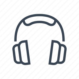 headphone, headphones, music icon