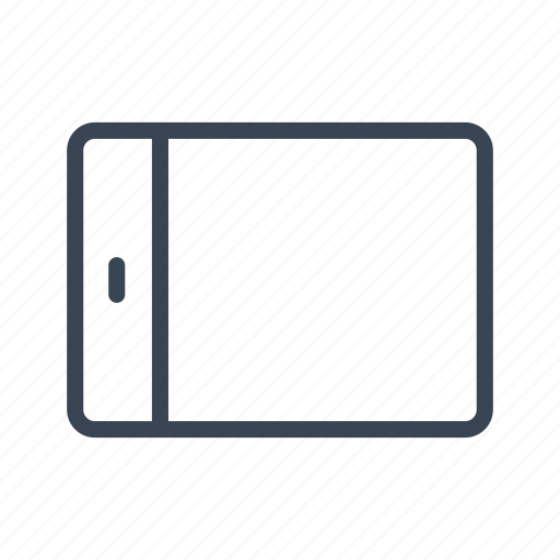 device, tablet, technology icon