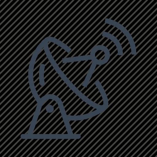 antenna, dish, radar, satellite icon