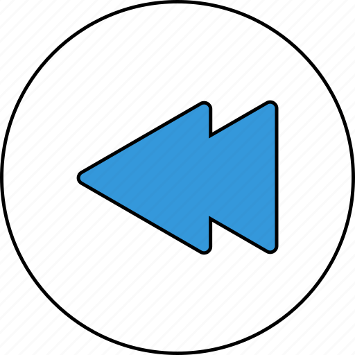 audio, control, media, music, player, rewind, sound icon