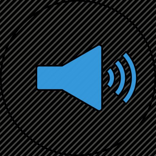 audio, control, media, settings, sound, speaker, volume icon