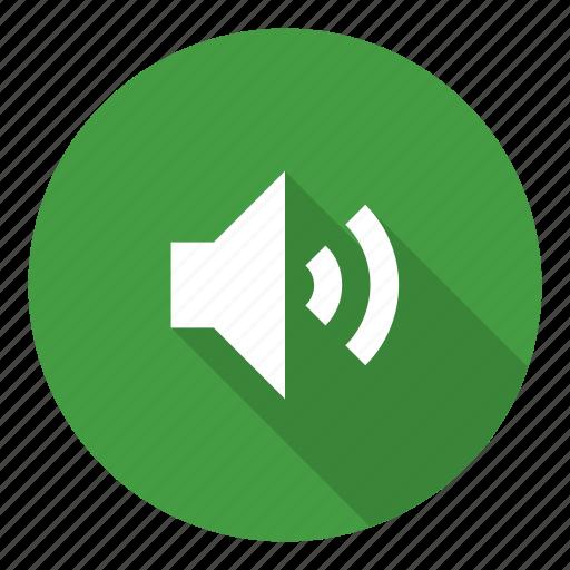 media, sound, speaker, volume icon
