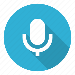 media, mic, microphone, record, recording icon