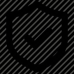 access, allow, protect, shield icon