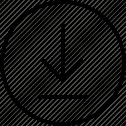download, menu, nav, navigation, point icon