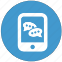 chat, communication, online, smartphone, talk