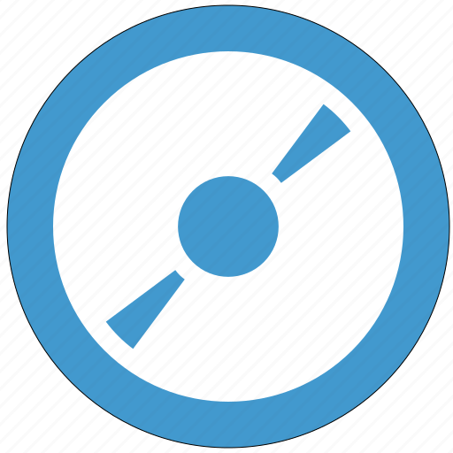 cd, disk, dvd, play, round object icon