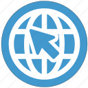 earth, global, globe, map, pointer, world icon