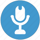 megaphone, mic, microphone, mike, recorder, sound icon