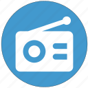 radio, sound, telephony, transmission, waves icon