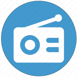 radio, sound, telephony, transmission, waves icon