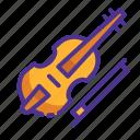 instrument, music, sound, violin