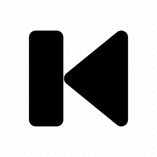 back, media, music, player, previous, video icon