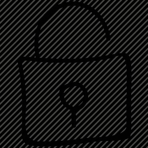 lock opened, open lock, padlock open, unlock icon
