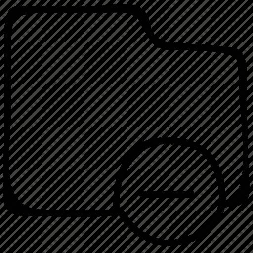 cancel folder, delete folder, file folder, folder icon