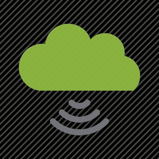 cloud, media, play, social icon