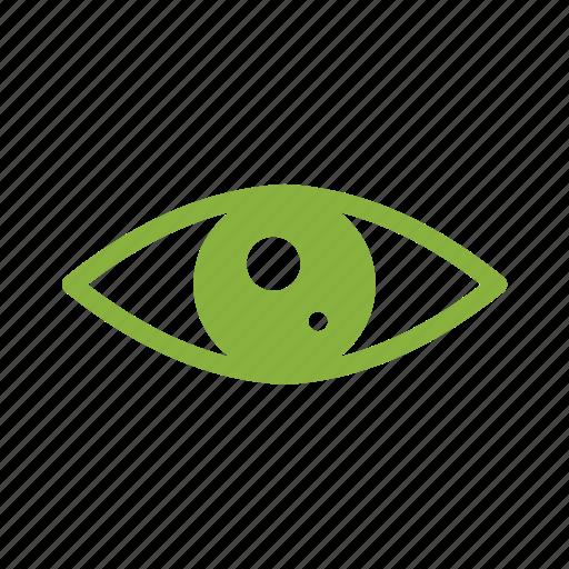 eye, media, play, social icon