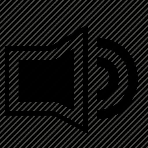 controlcons, increase, media, sound, volume icon
