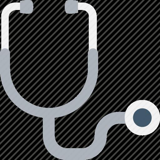 doctor tool, hospital, medical, phonendoscope, stethoscope icon