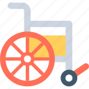 disability, handicap, paralyzed, paraplegic, wheelchair icon