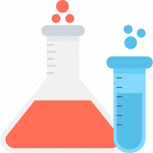 chemical, experiment, flask, laboratory, test tube icon