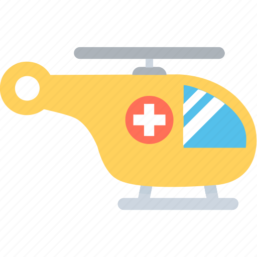 air ambulance, emergency, helicopter, medevac, medical helicopter icon