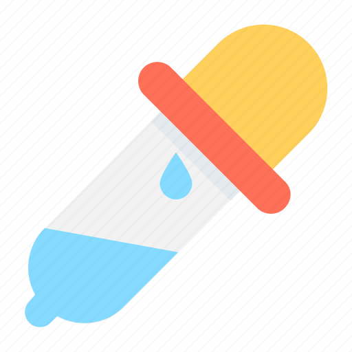 Chemical, color picker, dropper, laboratory tool, pipette icon - Download on Iconfinder