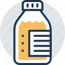 medicine bottle, medicine syrup, remedy, saline, treatment icon