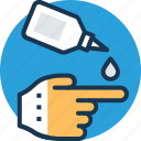 applicator, first aid, medical care, medical treatment, ointment icon