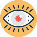 body part, eye, eyesight, ophthalmology, organ icon