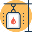 blood bag, blood transfusion, infusion drip, intravenous drip, iv drip icon