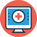 electronic record, health record, healthcare, medical record, online pharmacy icon