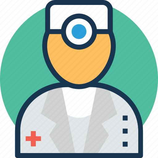 Physician, surgeon, doctor, avatar, medical practitioner icon
