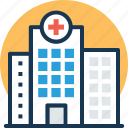 clinic, dispensary, hospital, infirmary, sanatorium icon